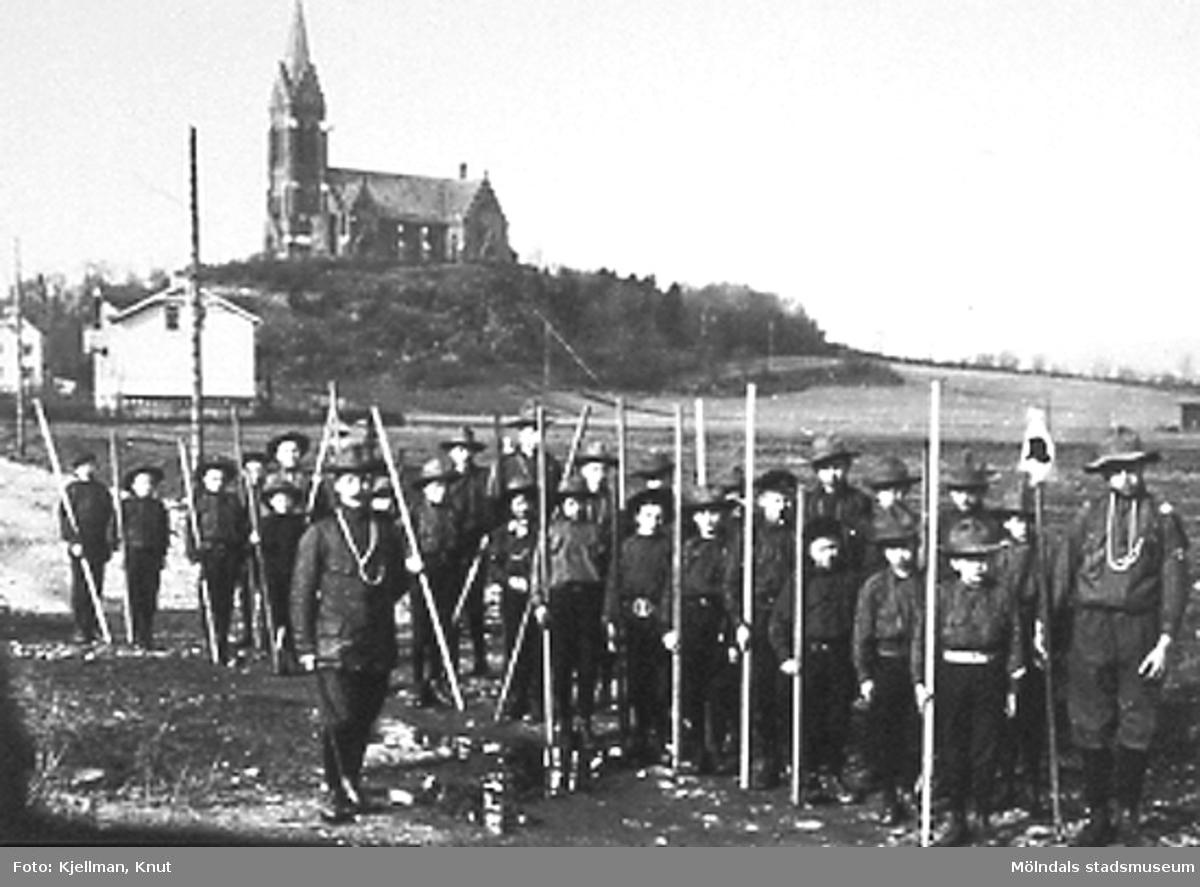 Scouter i Mölndalsbroområdet.