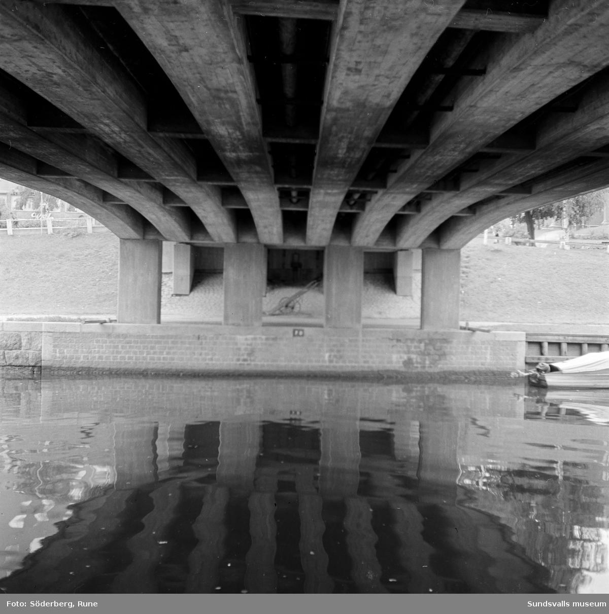 Motiv taget under Storbron.