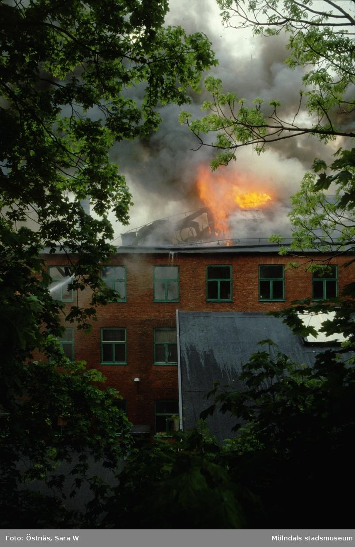Branden i Götafors den 4 junii 1986.