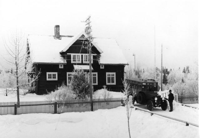 Linjen Munkflohögen - Föllinge - Laxsjö Munkflohögen