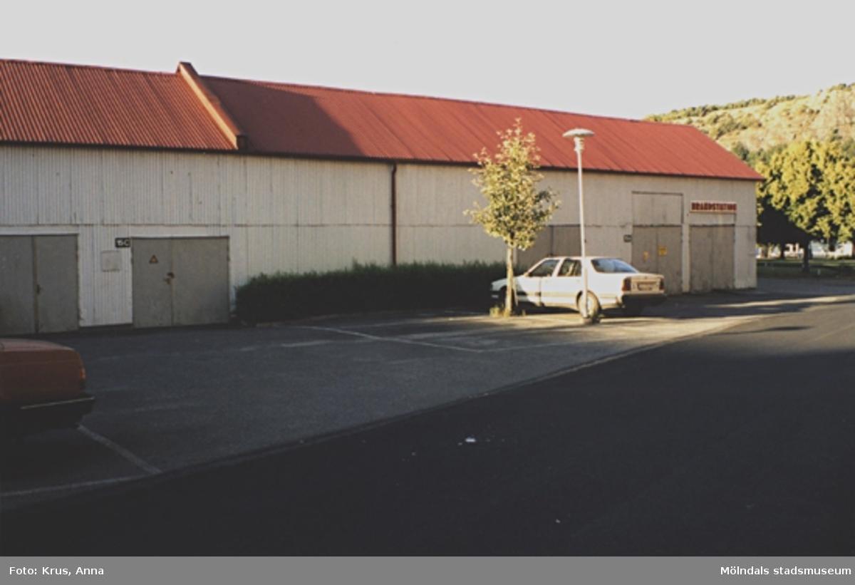 Kängurun 18. Krokslätts fabriker. Gamla brandstationen från sydväst.