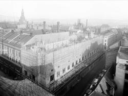 Den norske Creditbank, kontorbygning, byggevirksomhet, still