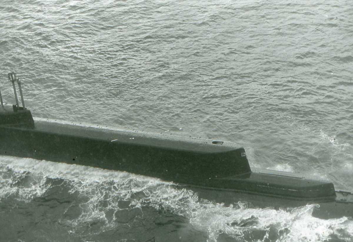 Russisk ubåt av Golf - klassen.