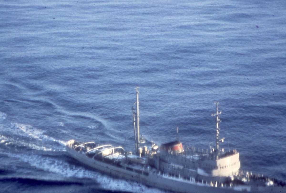Russisk fartøy av Pamir - klassen.