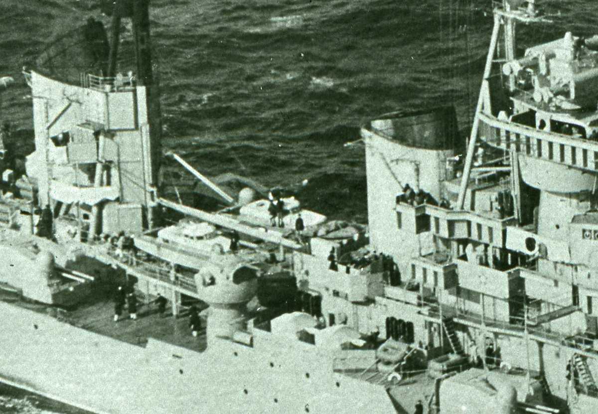 Russisk fartøy av Sverdlov - klassen.