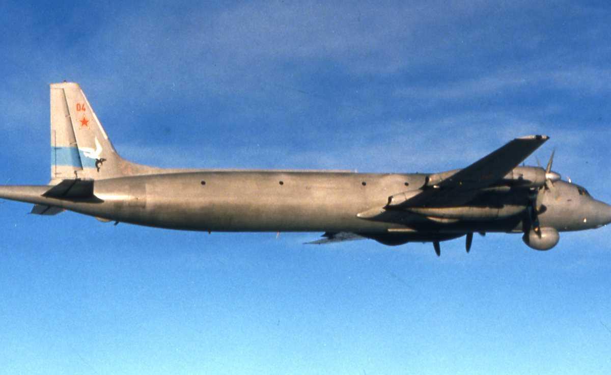 Russisk fly av typen May med nr. 04.