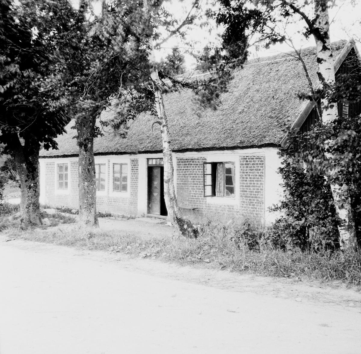Mellan Ängelholm och Torekov, Skåne Exteriör  Svensk arkitektur: kyrkor, herrgårdar med mera fotograferade av Arkitekturminnesföreningen 1908-23.