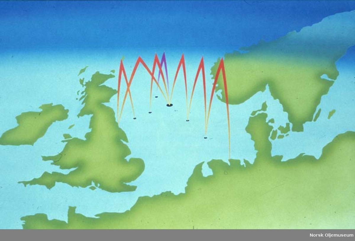 Illustrasjon - satellittsending