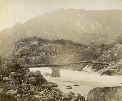 Naes. Entrance to Brantlandsdale 1888