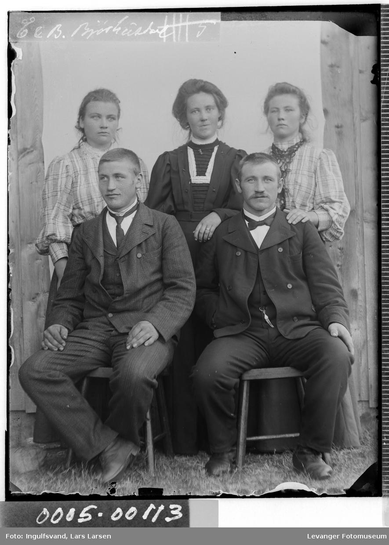 Gruppebilde av tre kvinner og tre menn..