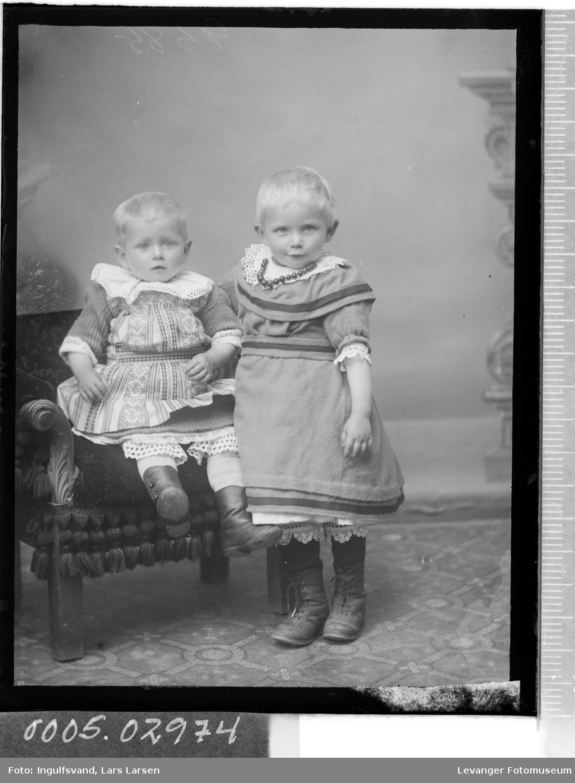 Portrett av barn.