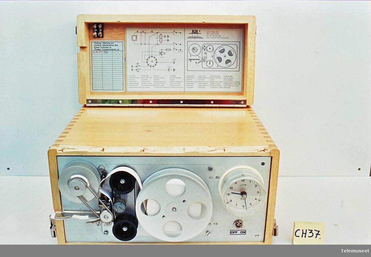 Abbonentkontrollapp Instrumentet brukes til tellerklager