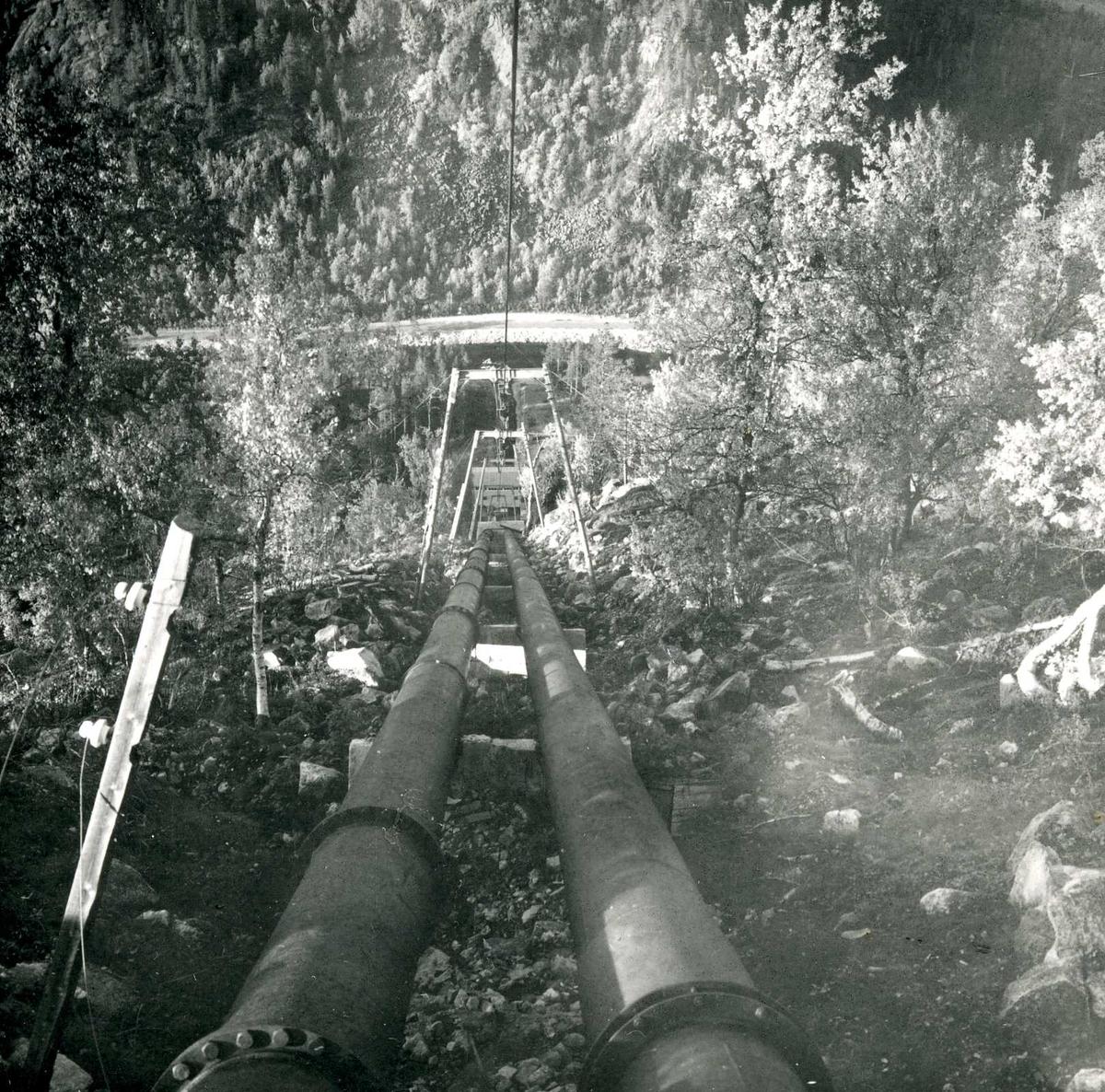 Rørgate, Haukeli kraftverk