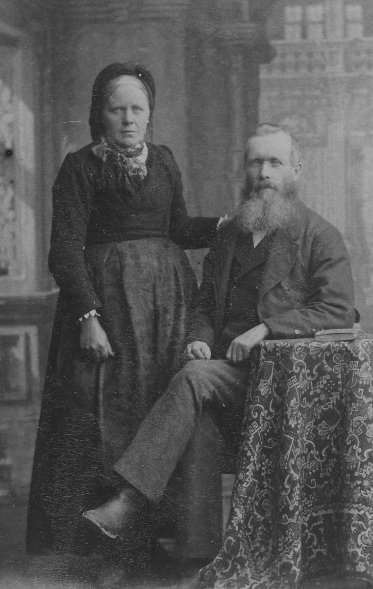 Tarjei og Asgerd Skræi
