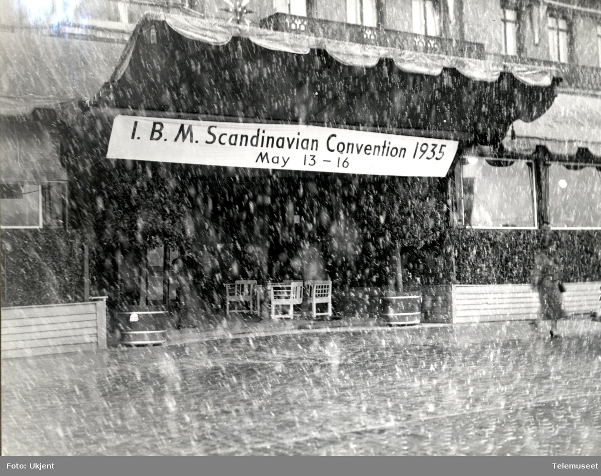 IBM Scandinavian Convention 1935 Stockholm
