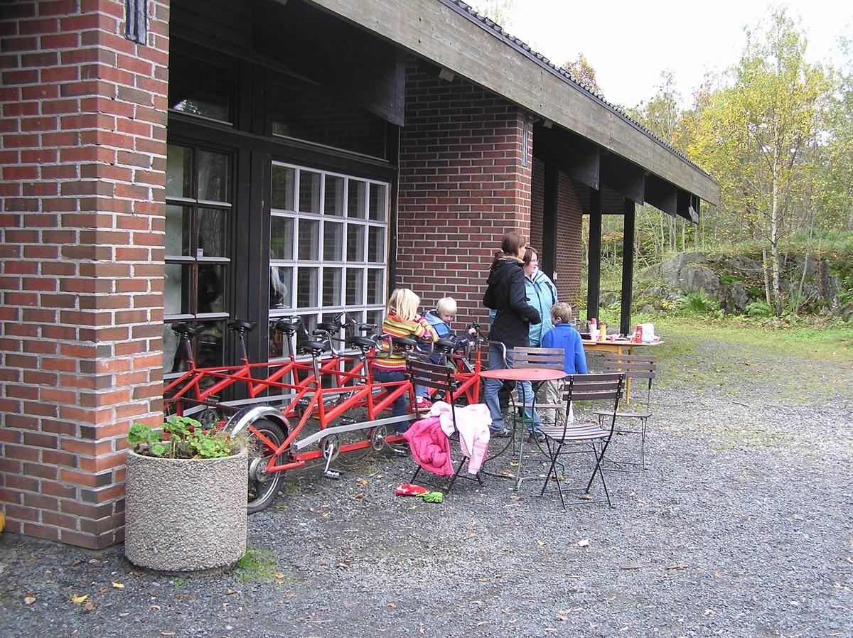 Høstferie på Berg-Kragerø Museum. 06.10.2006