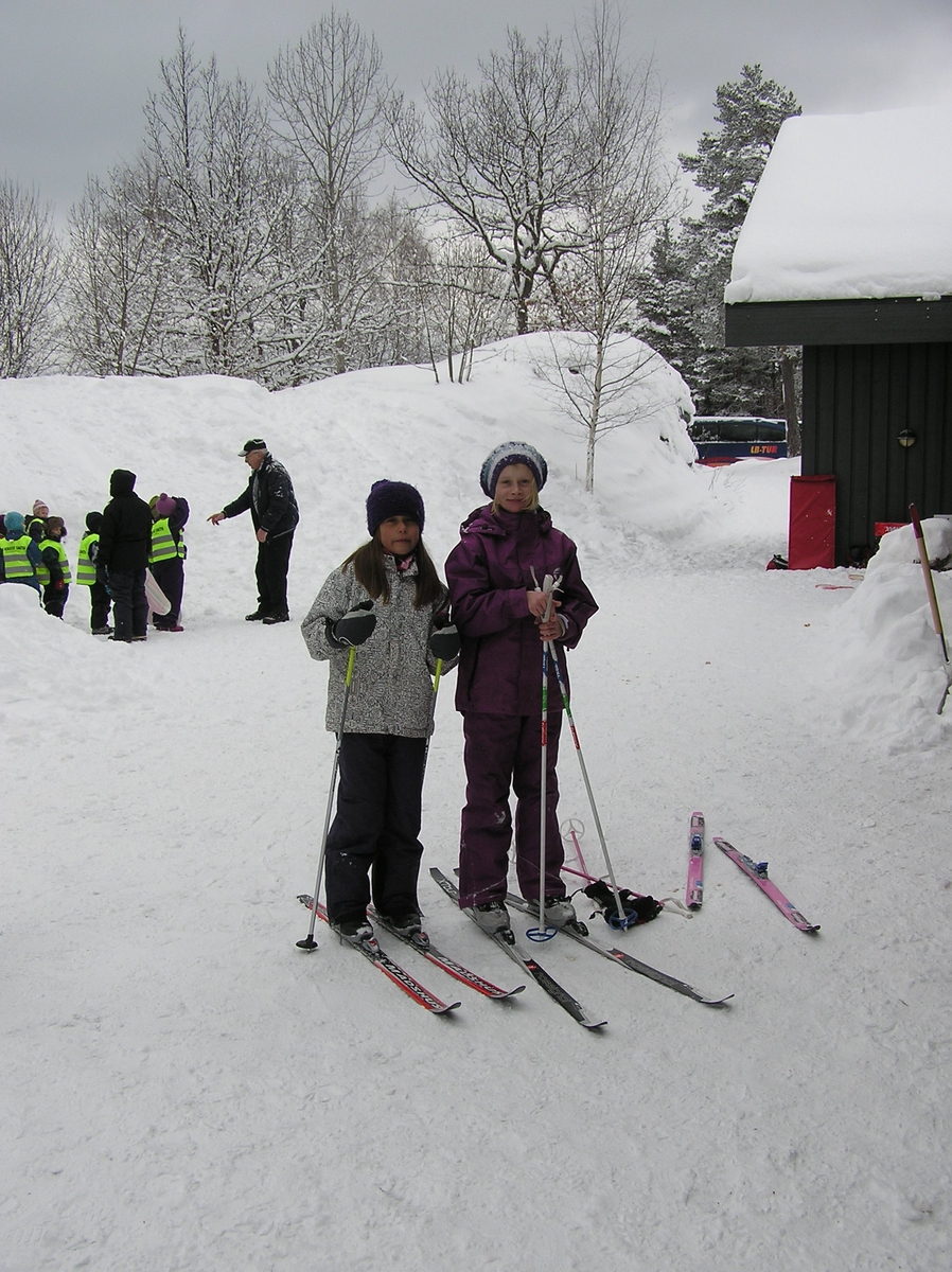 Barnas dag på Berg-Kragerø Museum. Vinterferien 23.02.2011.