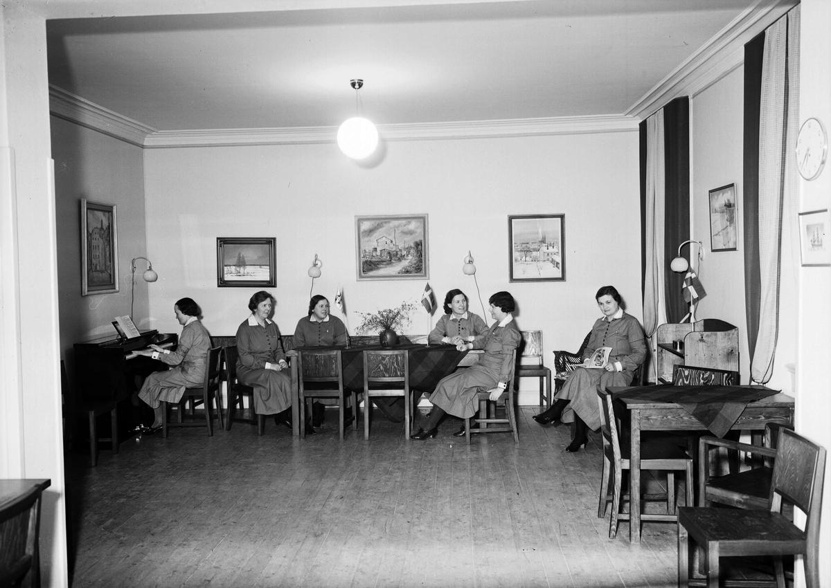 Lottakåren, Uppsala 1938