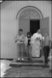 Palmsöndagen Påskseder i Katolska kyrkan.