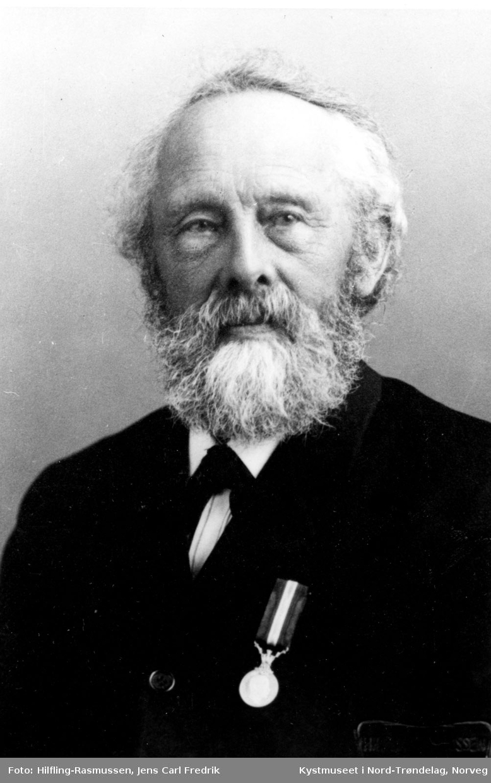 Odin Aune, ordfører i Flatanger