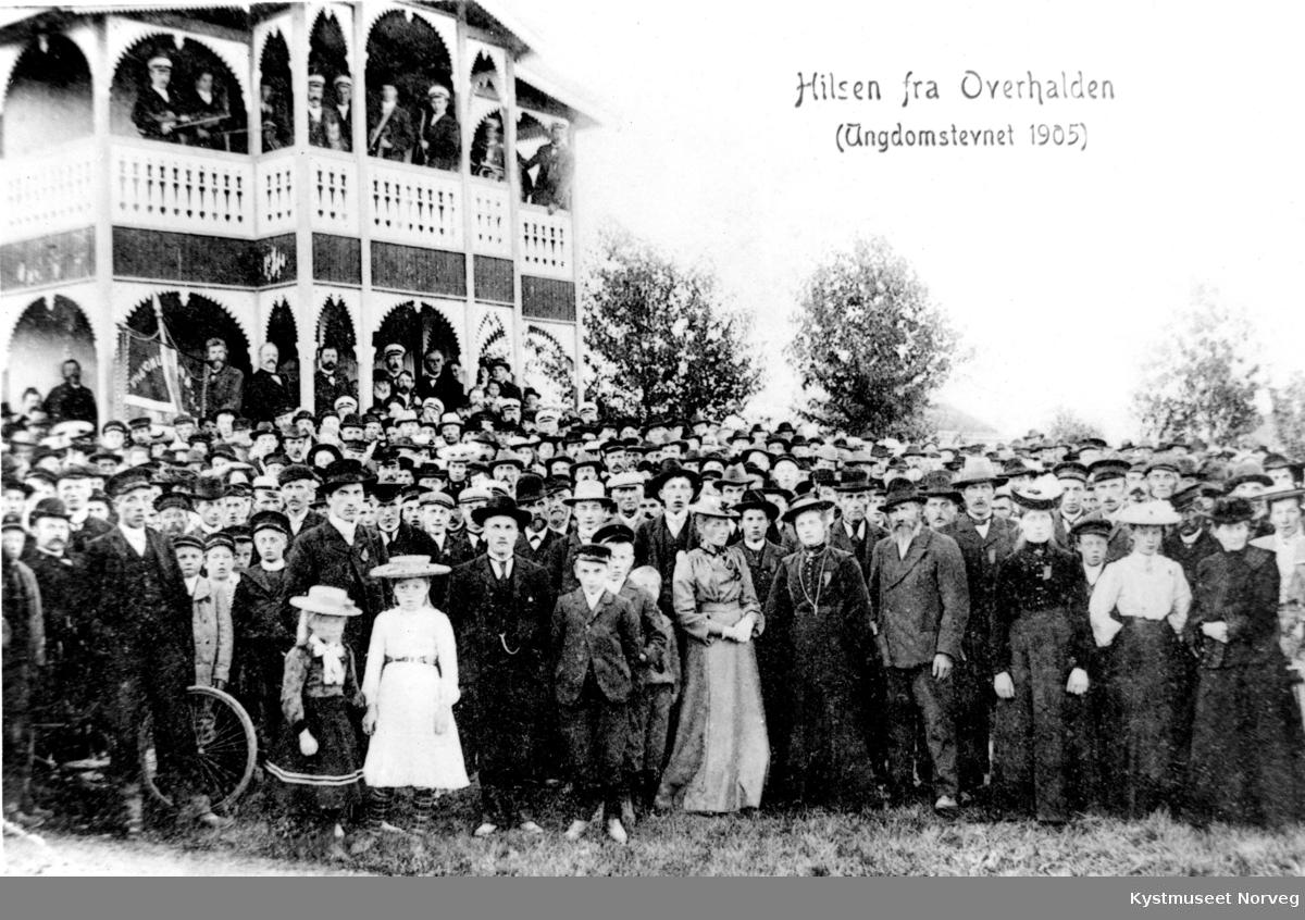 Overhalla, Ungdomsstevne i 1905