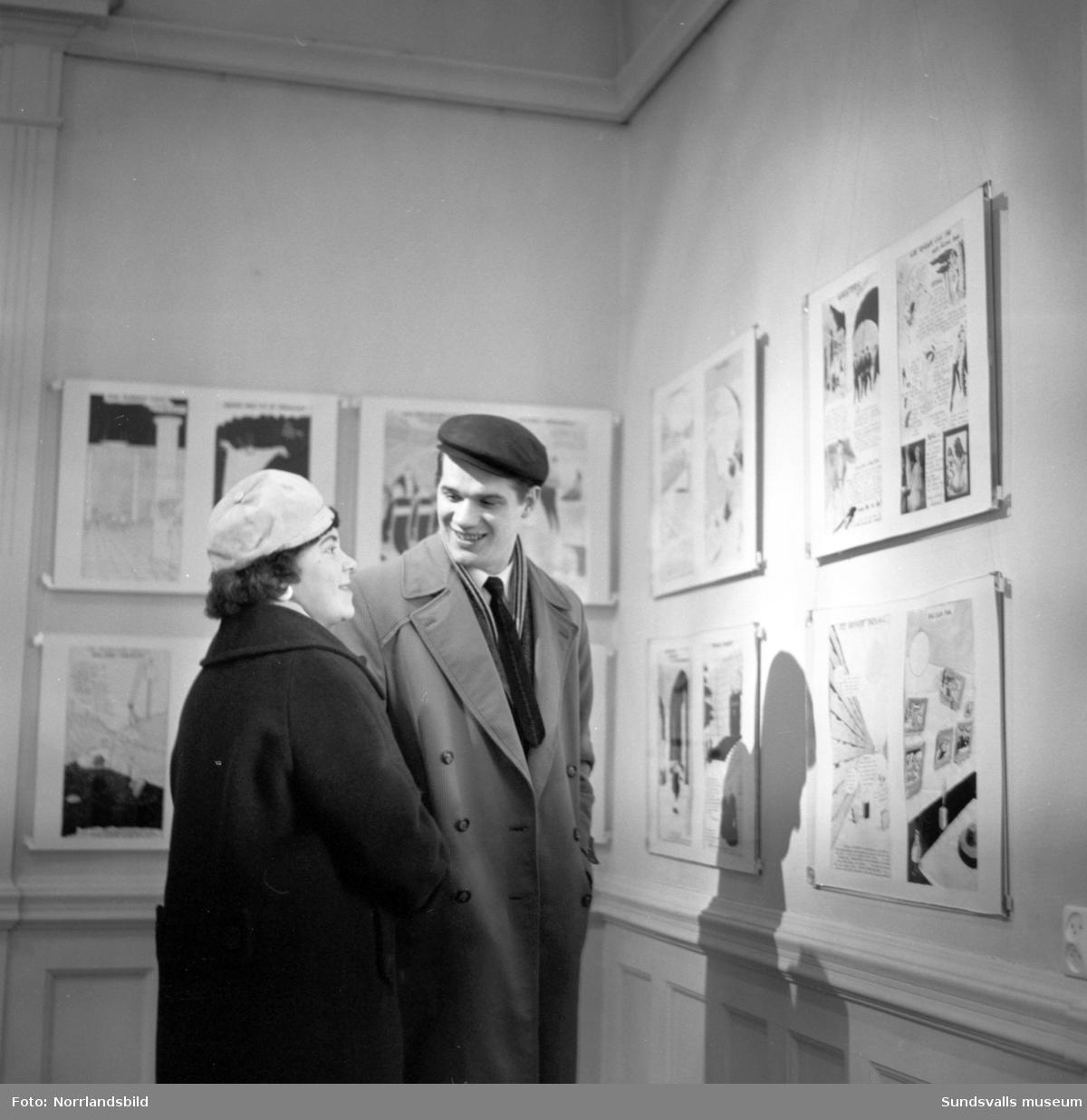 Rit-Olas utställning på Sundsvalls museum.