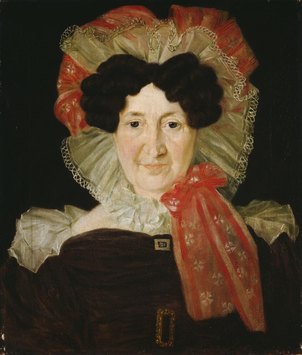 Fru sorenskriver Ingeborg Møinichen, f. Røring [Maleri]