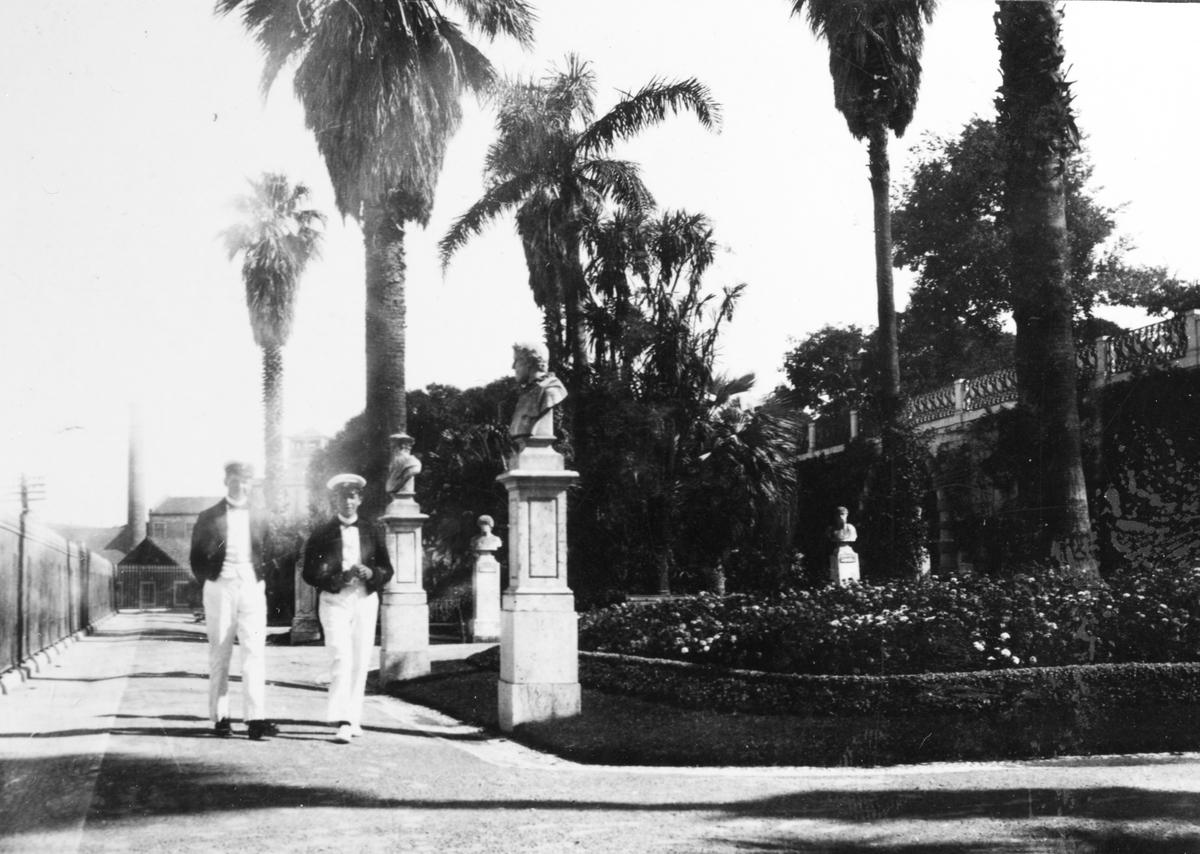 Fylgias resor 1920-21 Lissabon