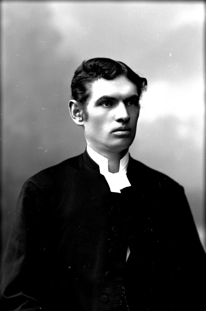 Pastor Haglund, 1890-talet. Fotograf: C Billberg.