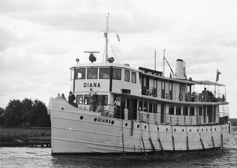 Waxholm IIIj. Ångfartyg, senare motorfartyg.