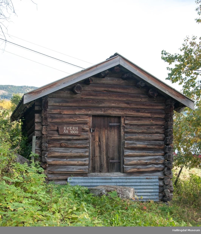 Kvernhus fra Brennhovd i Grønlio