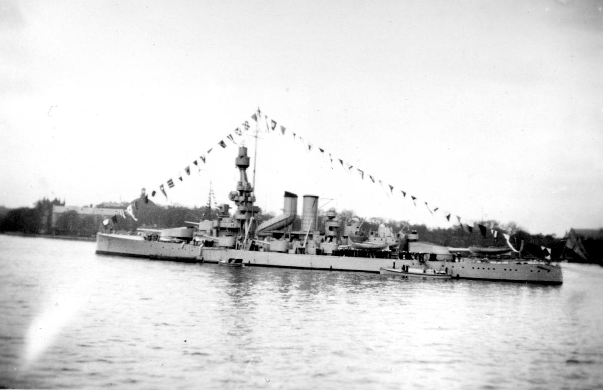 Skeppsgossekåren Minnen från 1927-30 HMS Sverige