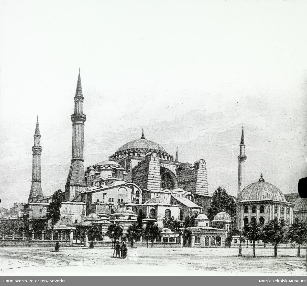 Dias: Tyrkia: Sofiamoskeen. Constantinopel