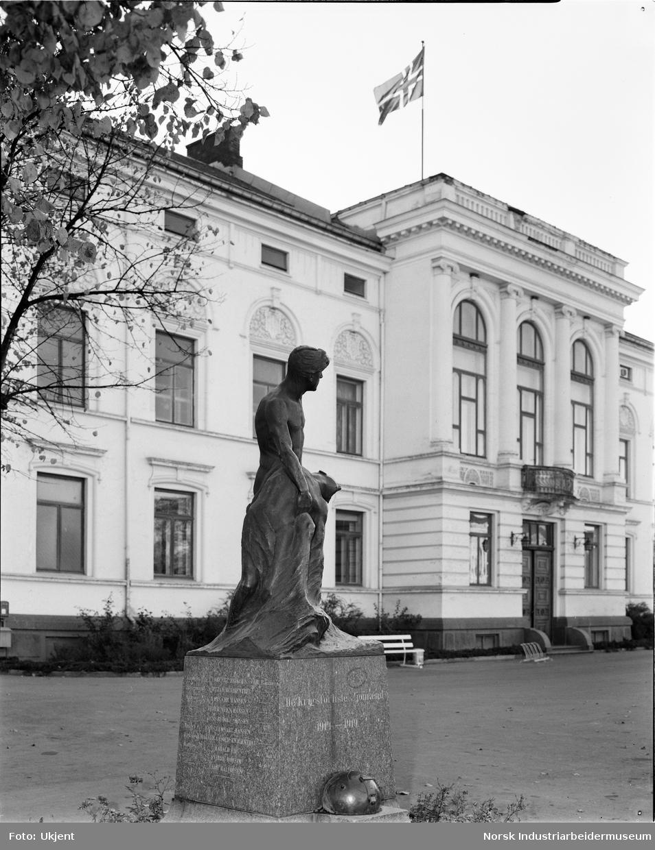 Sjømannsmonumentet i Porsgrunn.