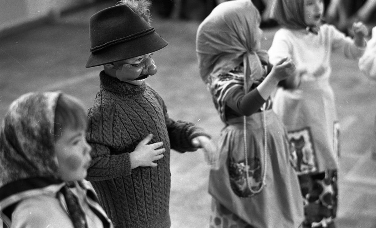 Barngymnastik 9- 10 april 1968