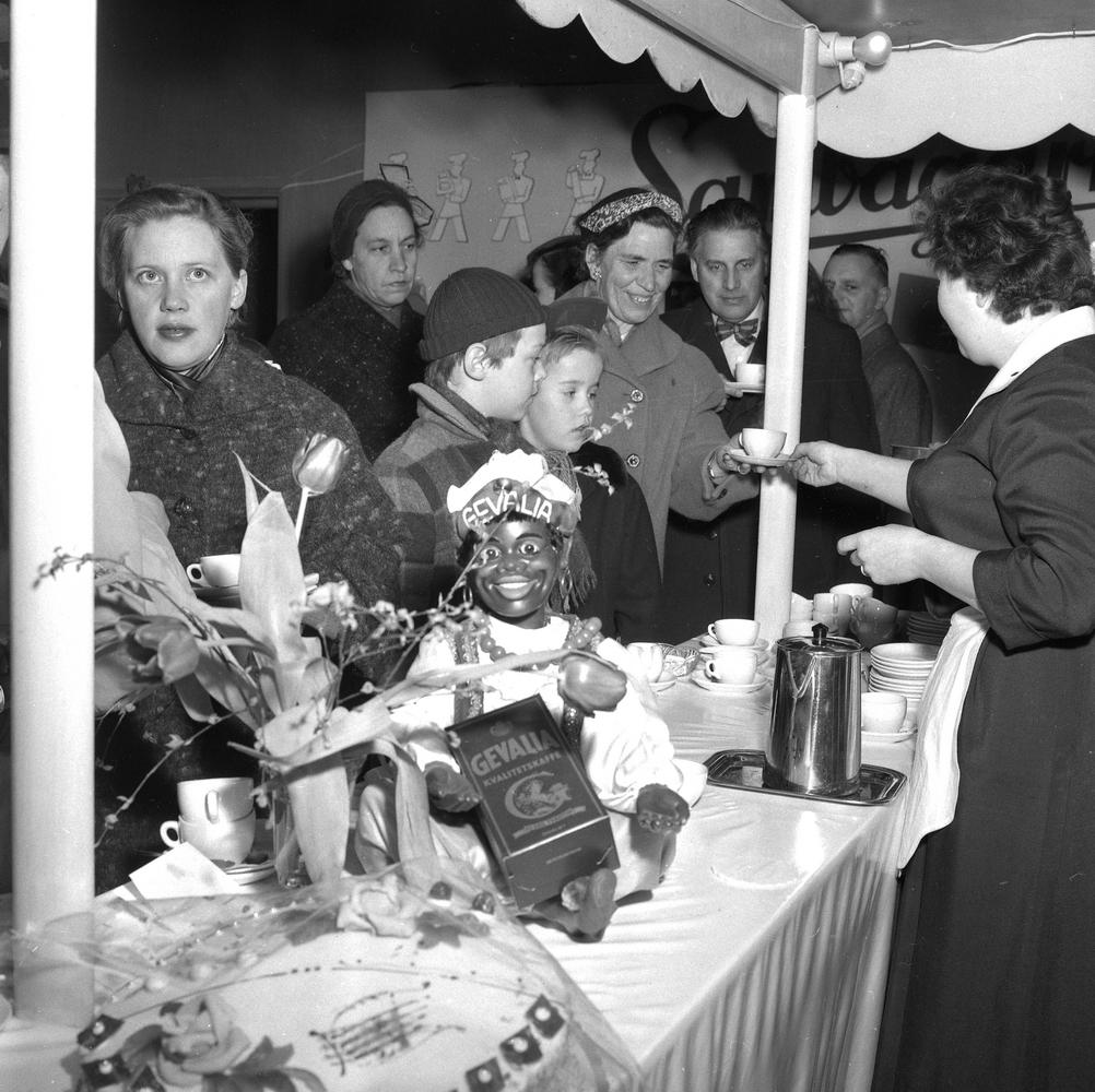 Livsmedelsutställningen.28 februari 1955