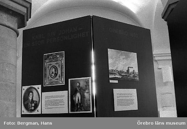 Utställningen på slottet: Karl XlV Johan i Örebro'.(Bernadotteutställn.)2/6-31/8 1989-06.