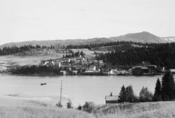 Jernbaneanlegget Mosjøen-Mo i Rana : Finneidfjord sett fra j