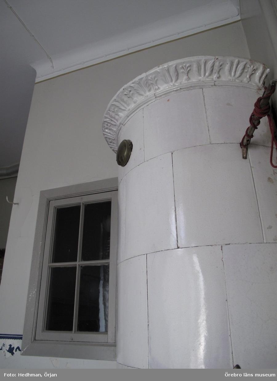 Inventering av Karlslunds byggnader.Corps de logiet, interiört. Toalettrum.Dnr: 2011.250.050