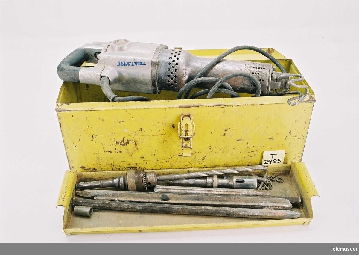 Bormaskin for slag og boring 220 V, 650 W Nr 157820 EW/UHU95C156