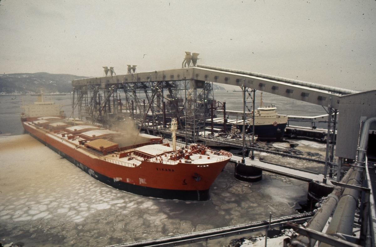 M/S 'Vikara' (b.1973, Mitsubishi Heavy Industries Ltd., Kobe, Japan).
