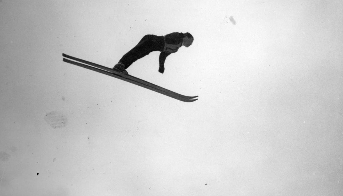 Kongsberg skier Arnholdt Kongsgård at Zakopane in 1939
