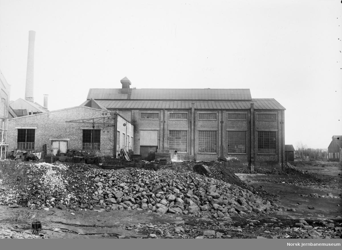 Verkstedbygg på NSB Verkstedet Hamar
