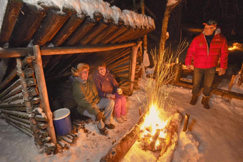 God stemning ved nyingen under åpningen av Friluftslivets år 13/1 2015. (Foto/Photo)