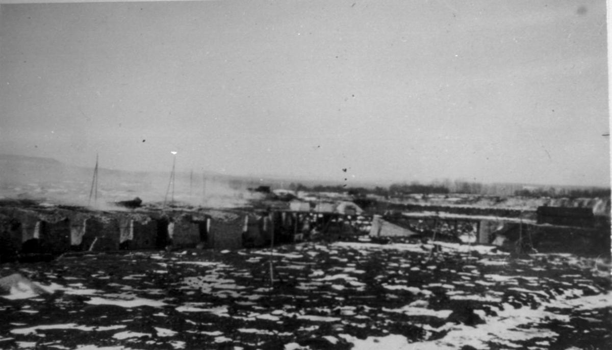 Uddagårdens kalkbruk i början av 1930-talet.