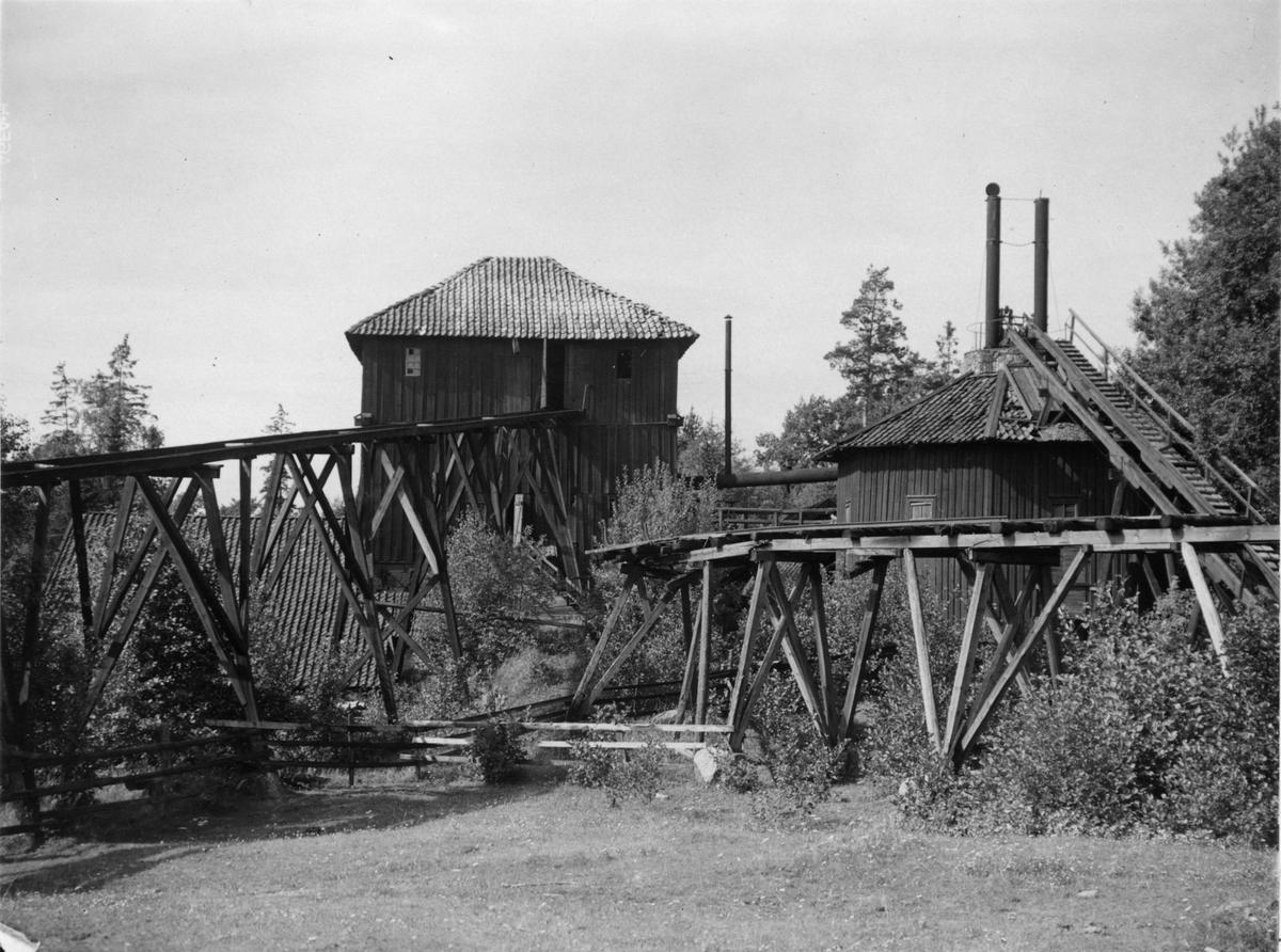 År 1670 anlades järnbruket i Närke men år 1927 gjordes det om till ett pappersbruk.