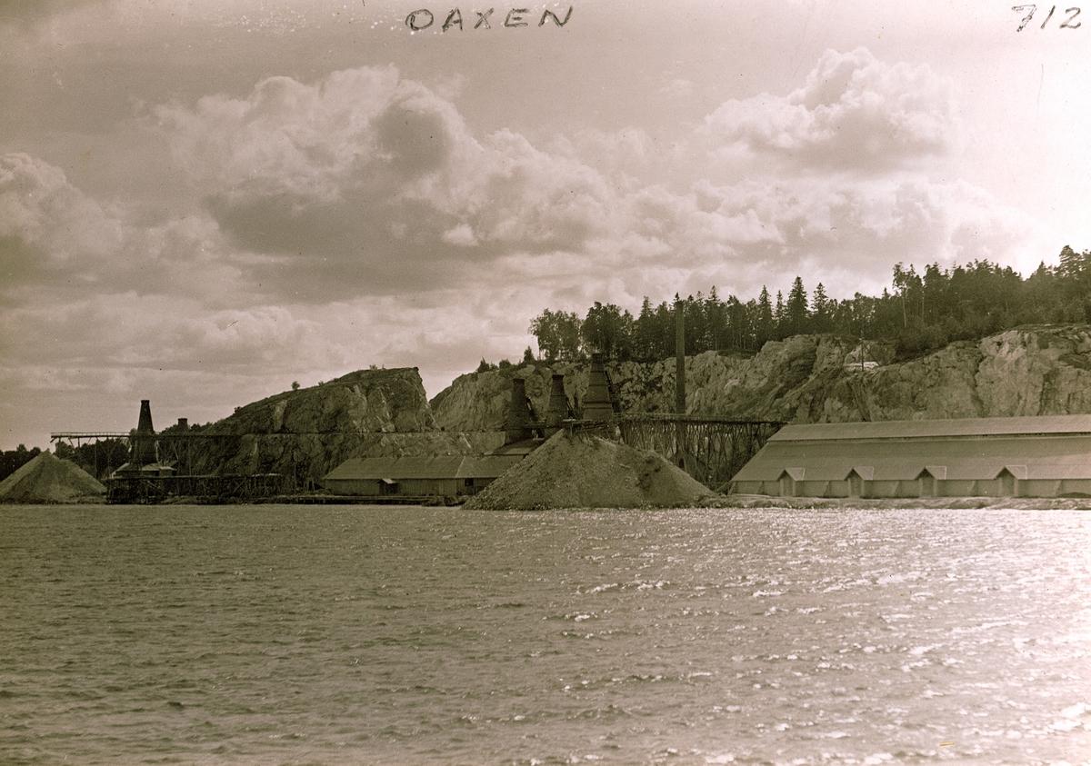 Oaxens Kalkbruk på Mörkön.