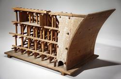 Dammbyggnad, modell