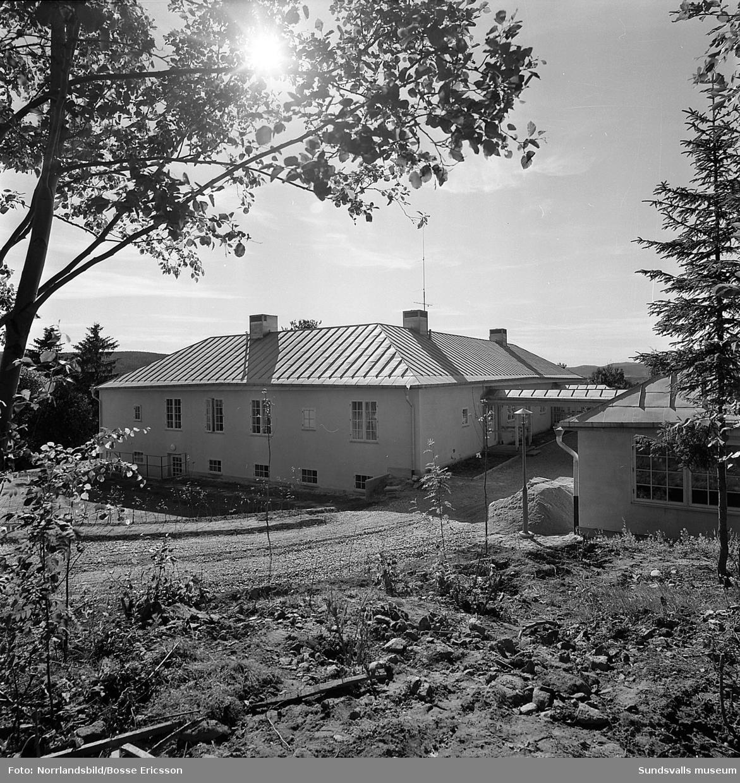 Disponent Modins villa i Granlohög. Exteriörbilder.
