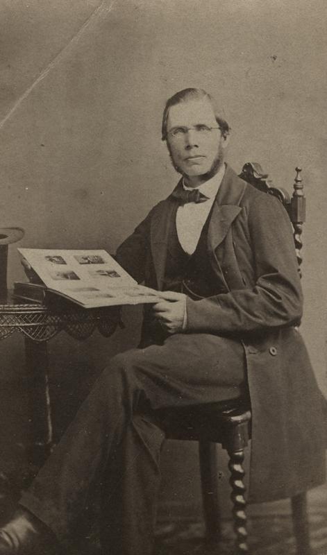 En man.Gustaf AdlersMaj 1863.Till vännen.